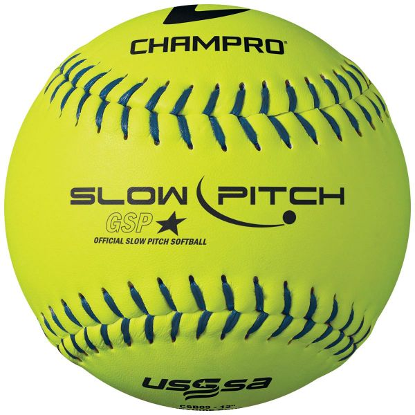 CHAMPRO USSSA SLOWPITCH .44 SYNTH 12