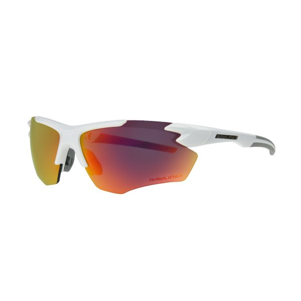 Rawlings RY 2101 White And Red Mirror Sunglasses