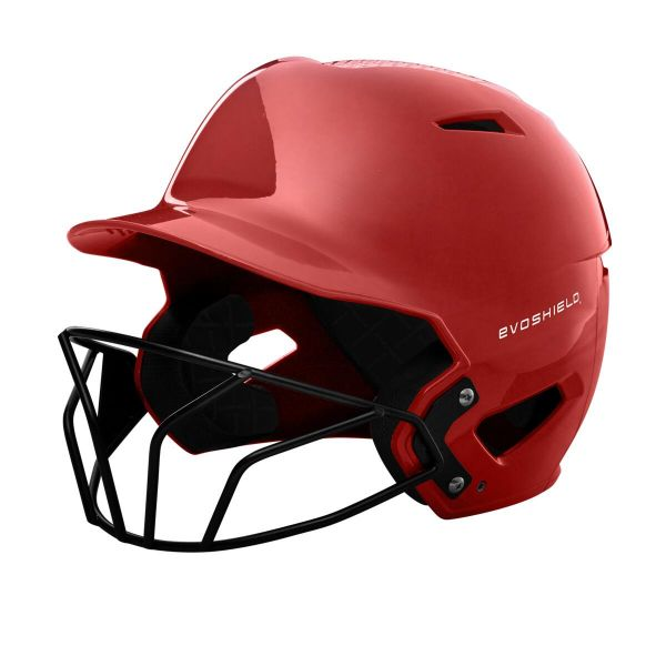EvoShield XVT Luxe Fitted Batting Helmet with Softball Facemask