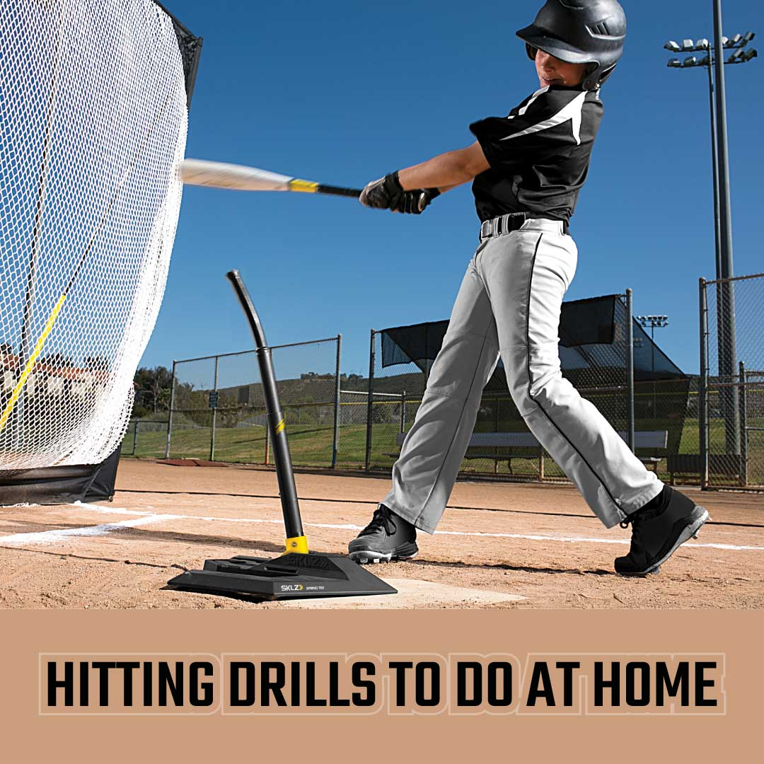 5 Hitting Drills to Do at Home