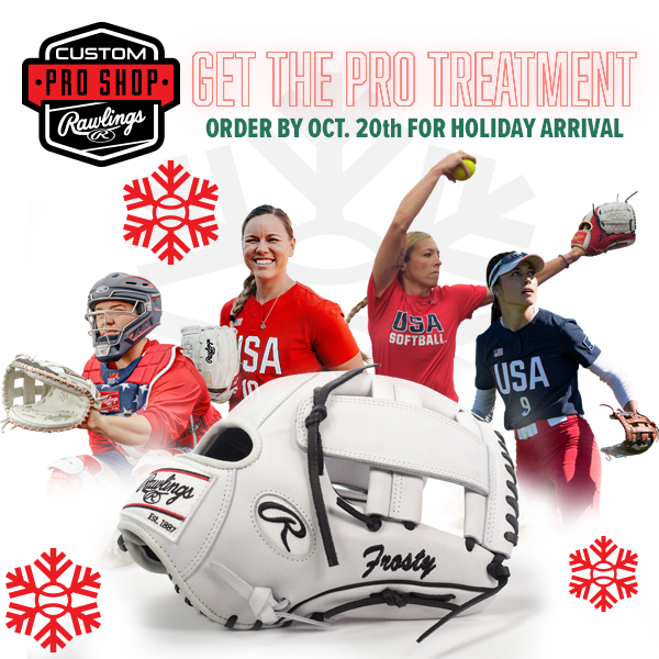 2021 Holiday Rawlings Glove Customizer