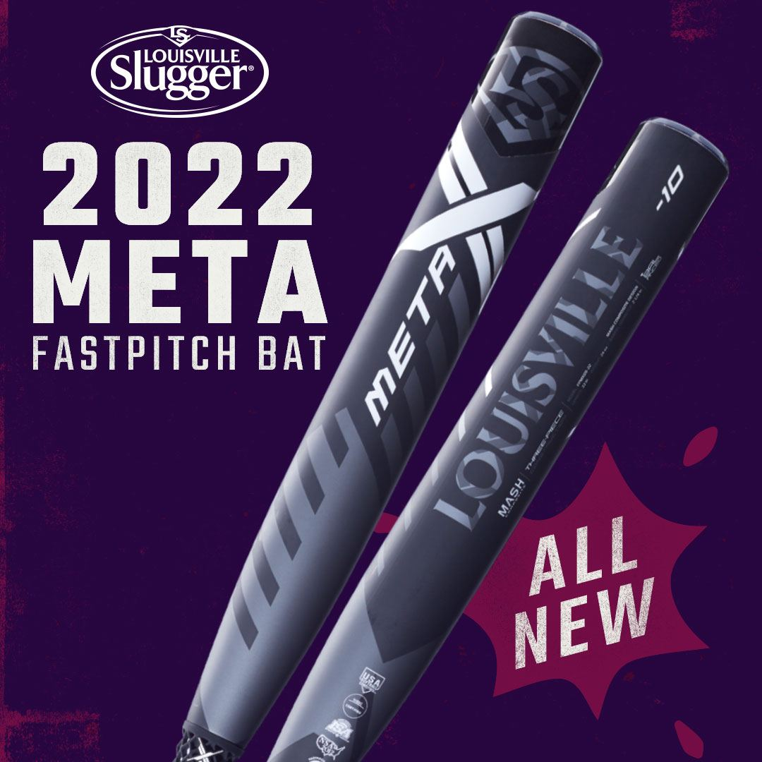 Louisville Slugger 2022 Meta Fastpitch Bat