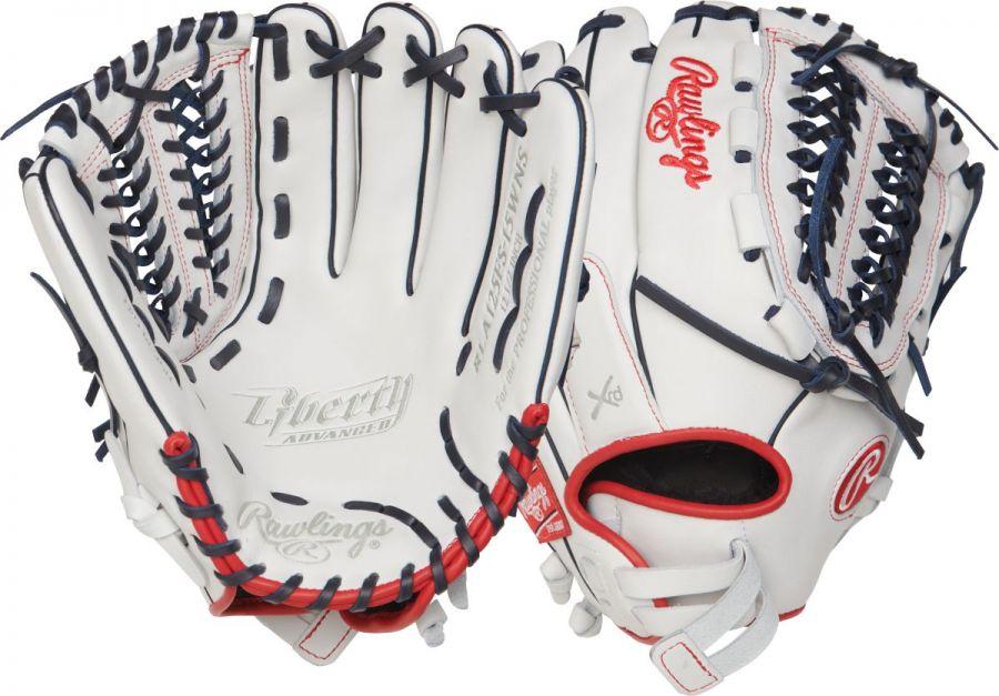 "Rawlings Liberty Advanced RLA125FS15WNS 12.5"" Fastpitch Fielder's Glove"